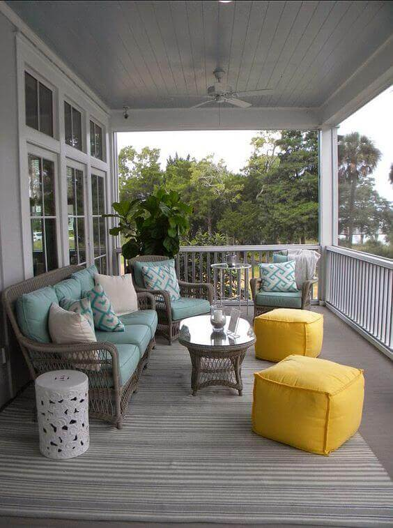 36 Simple Back Porch Ideas too Beautiful to Be Real on Back Patio Porch Ideas id=62862