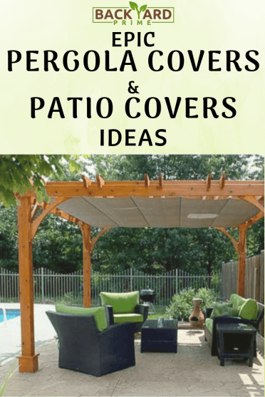 Epic Backyard Pergola Covers and Patio Covers Ideas 3