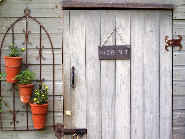 8 Easy Steps to Build an Outdoor Storage Shed for Garden 9