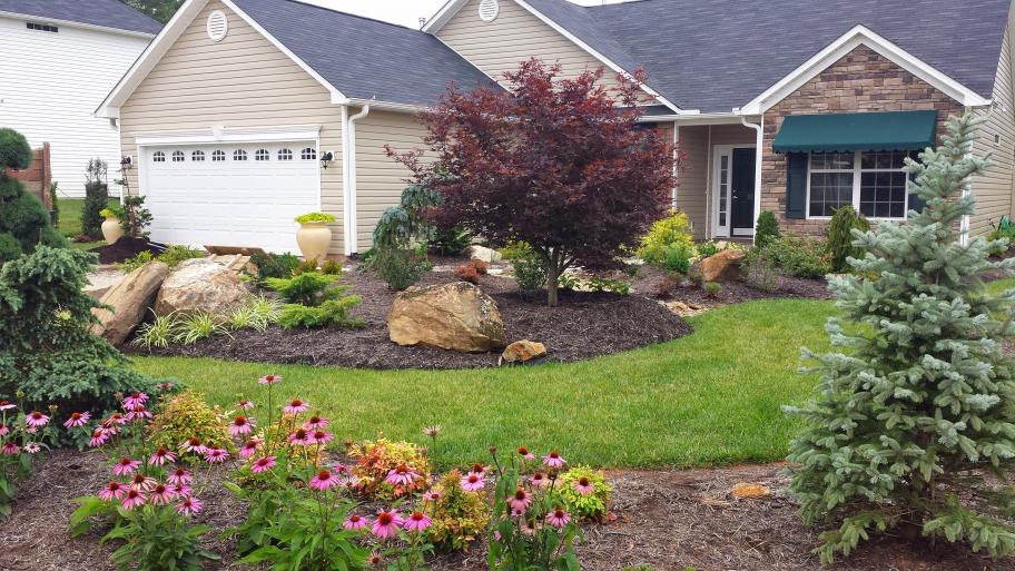 Low Maintenance Landscaping Ideas on Low Maintenance Backyard Design  id=27378
