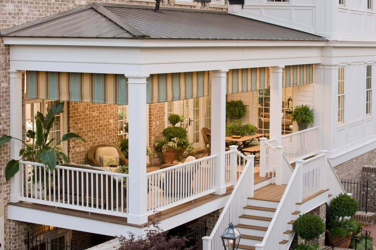 Covered Deck Ideas for Your Home (Amazing Designs ... on Covered Back Deck Designs id=44962