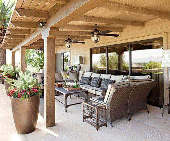 Covered Deck Ideas for Your Home (Amazing Designs ... on Covered Back Deck Designs id=57908