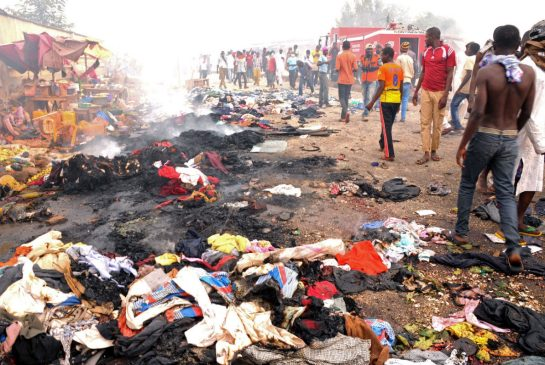Human Eaters In Lagos Stripped Naked By Angry Mob; Almost Set Ablaze