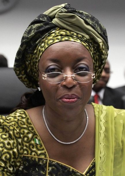 Nigeria's Oil Minister Alison-Madueke attends an OPEC oil ministers meeting in Vienna