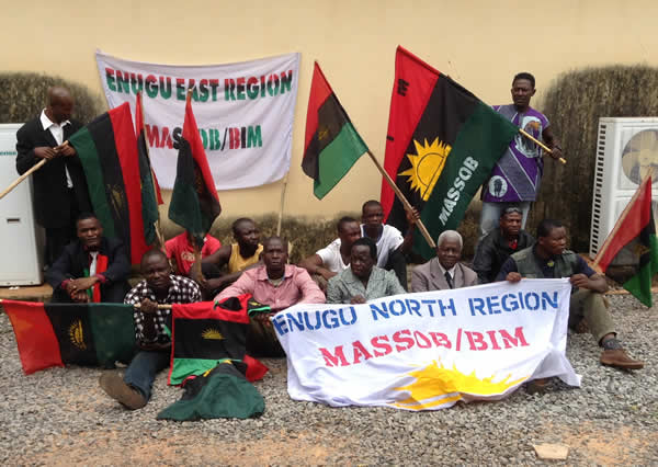Pro-Biafra-activists-arrested-in-Enugu