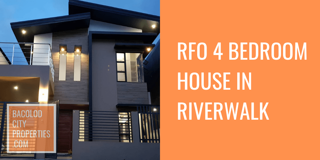 RFO 4 Bedroom House Riverwalk Bacolod City Properties Featured