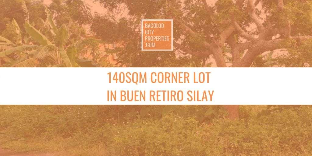 Residential Corner Lot for Sale in Silay