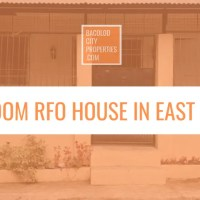 2 Bedroom RFO House For Sale in East Homes 3, Fortune Towne, Brgy. Estefania, Bacolod City