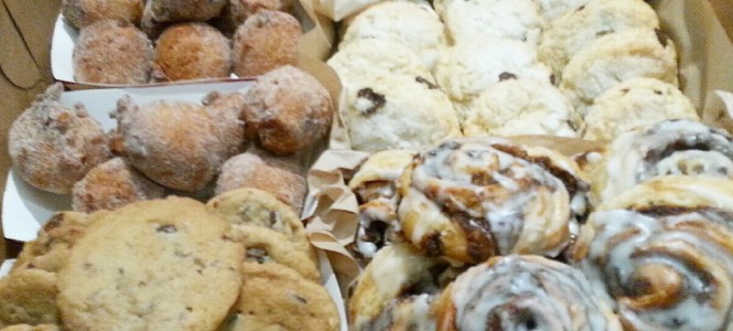 fresh baked pastries