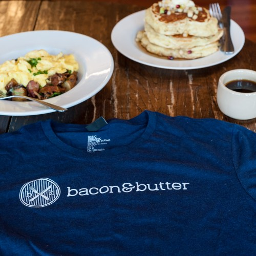 bacon & butter t-shirt