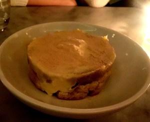 Estela Sweet Potato with Vanilla Ice Cream and Rum