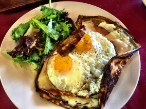 French Tart Crepe Croque Madame