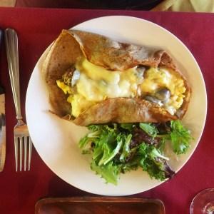 French Tart Crepe Merguez
