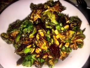 Xixa Fried Burssel Sprouts