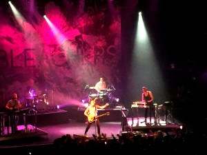 Bleachers at Terminal 5 NYC