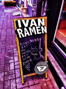 Ivan Ramen Sign