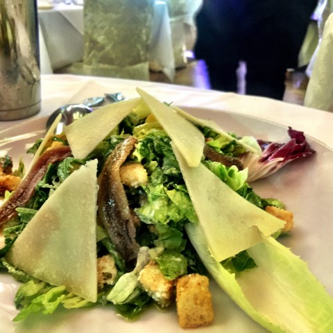 Villa Paradiso Caesar Salad with anchovies