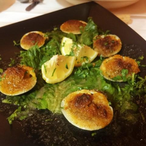 cucina fresca baked clams
