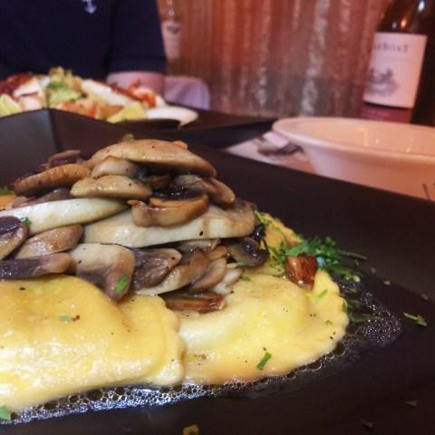 cucina fresca mushroom ravioli