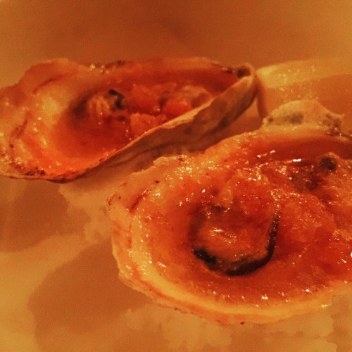 Dover Broiled Oysters