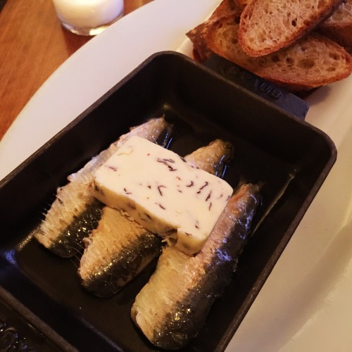 Smoked Sardines at French Louie