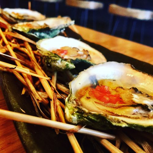 Maysville Hay Roasted Oysters