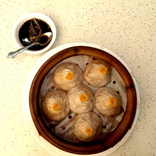 Flaming Kitchen Steamed Pork and Crabmeat Soup Dumplings