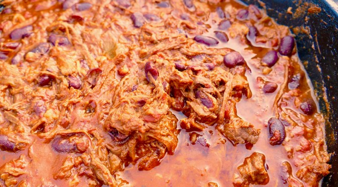 Pulled Beef Chili Con Carne