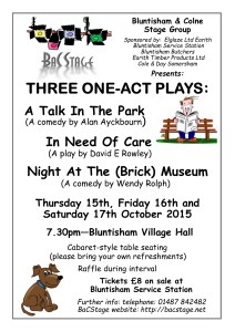 Three Plays 15 - Poster A4