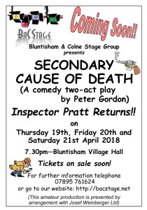 Coming soon - Secondary Cause of Death