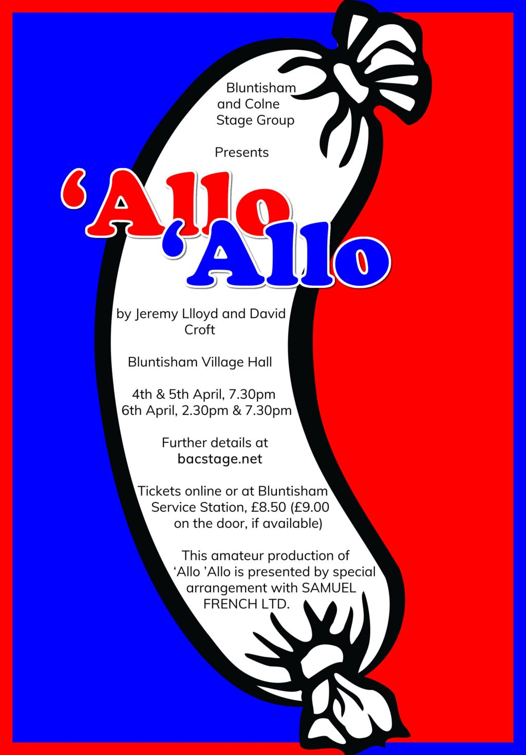'Allo 'Allo Coming Soon