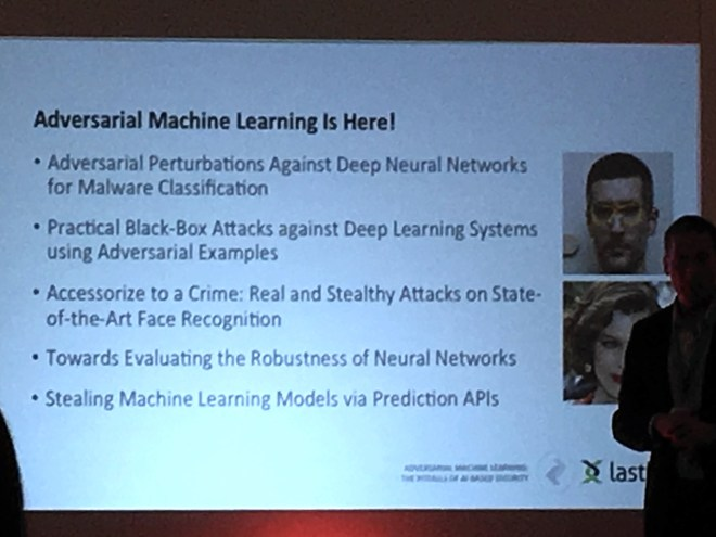 Adversarial machine learning is here