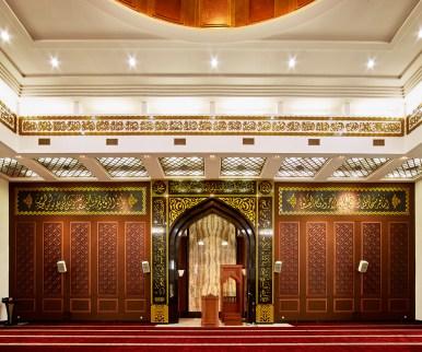 Arif Nurul Huda Mosque Interior