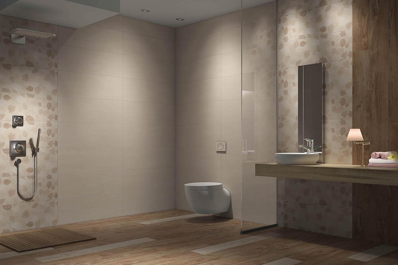 Badezimmer-Waschtisch-Fliesen-in-Holzoptik-Wand-und-Bodenfliesen