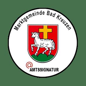 Amtssignatur Bildmarke Bad Kreuzen