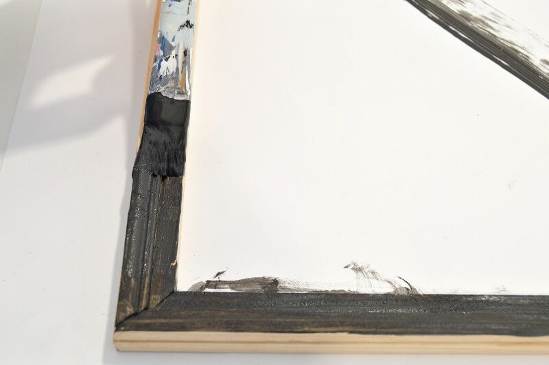 Pintando marco