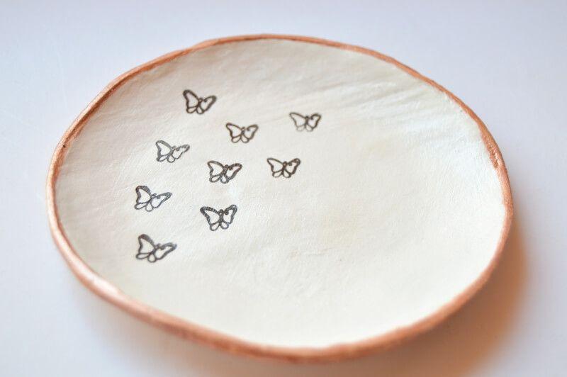 Plato mariposas