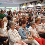 Georgie Brooks launches a Year in the Mud and the Toast and the Tears, in Adelaide
