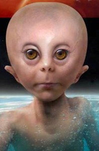 """A reconstruction of the appearance of the """"Starchild"""""""