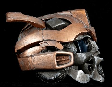 Custom Motorcycle Helmet Conversions The Transformers Bumblebee Helmet