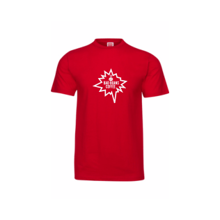 Bad Beans Tee White (red)