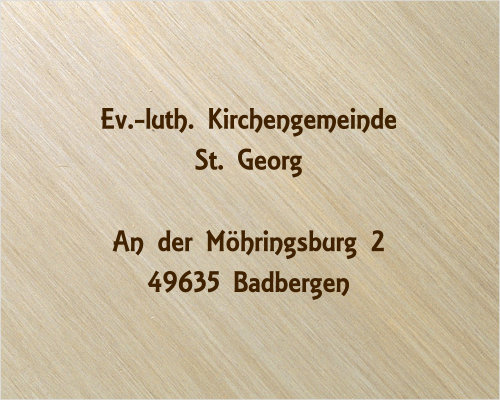 Ev. luth. Kirchengemeinde St. Georg Badbergen