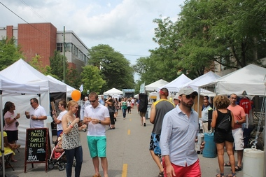 The Sheffield Neighborhood Association wants to move the fest off the sunny, north-south Sheffield and onto shadier Webster.
