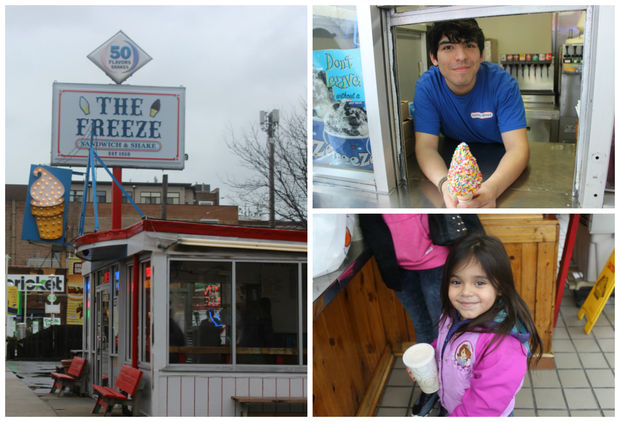 Tastee Freez, which now goes by The Freeze, is officially open for the season.
