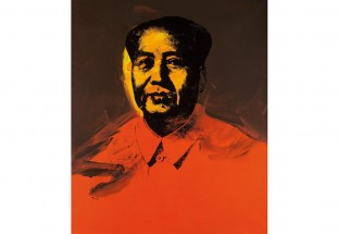 1973 Andy Warhol silkscreen from the artist's Mao series