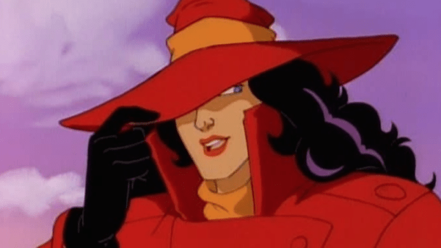 Old school Carmen Sandiego (We&#Array;ll see what the new incarnation looks like).