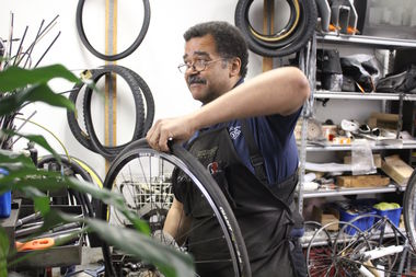 D.J.'s Bike Doctor Owner David Jones said he will close the store and move out of the neighborhood.