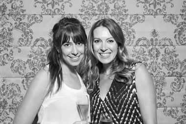 Hallie Borden and her sister Dana Karlov will open Honey Bridal on June 2.