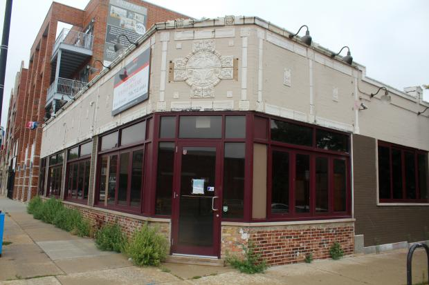 The planned location of Nick's Pizza & Pub, formerly Grand Tour.