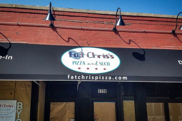 Fat Chris's Pizza and Such will serve pizza by the slice, carry out and also offer a buffet.